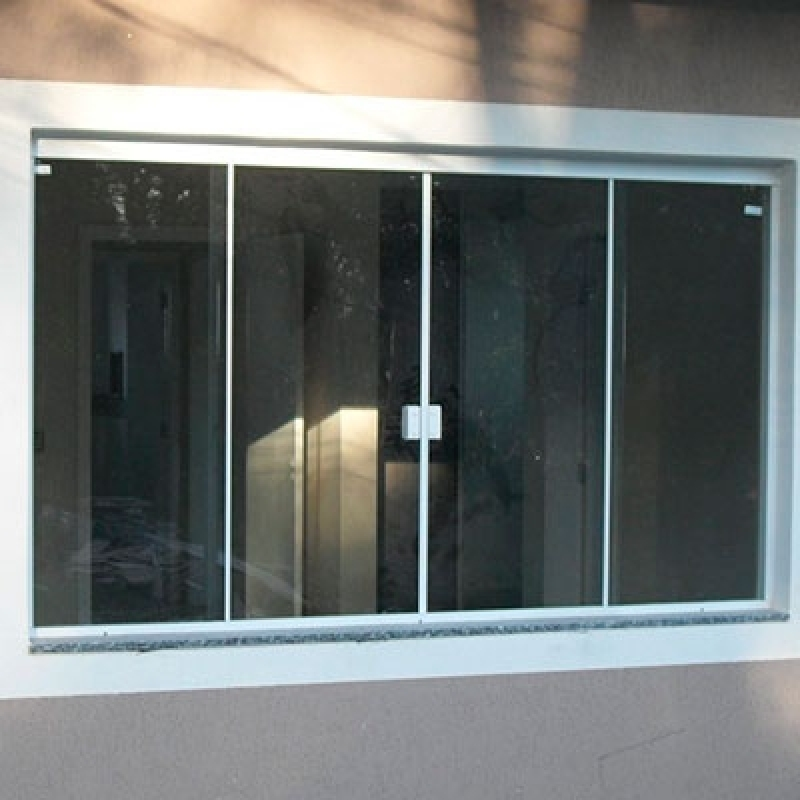Janela para Cozinha de Vidro Jardim Campo Belo II - Janela de Vidro para Banheiro