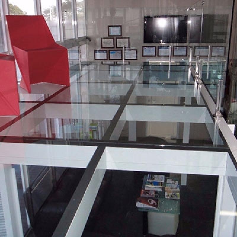 Loja Que Vende Piso de Vidro Transitável para Casa Vila Proost de Sousa - Piso de Vidro Laminado