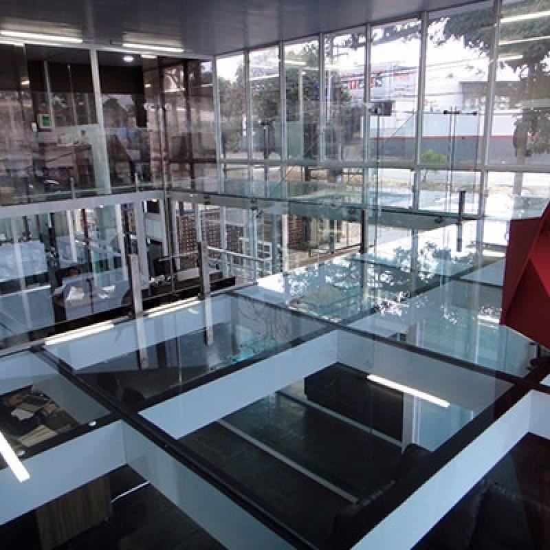 Piso com Vidro para Comprar Cosmópolis - Piso de Vidro Laminado