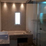 box de vidro para banheiro até o teto Jardim Estoril