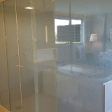 box de vidro para banheiro até o teto