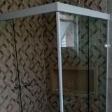 box de vidro para banheiro pequeno Jardim Leonor