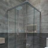 box para banheiro de vidro orçar Vila Mimosa