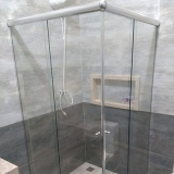 boxes de vidro de correr para banheiro Jardim Baronesa