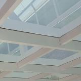 cobertura de garagem de vidro