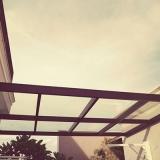cobertura de vidro para área externa orçamento Jardim das Andorinhas