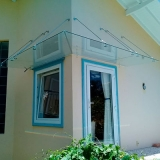 cobertura de vidro para porta de entrada Vila Iapi