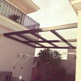 coberturas de pergolado com vidro Parque dos Pomares