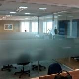 comprar divisórias de vidro para escritório Amparo