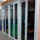 comprar esquadrias de aluminio portas Jardim São Pedro