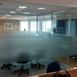 divisória de ambiente vidro valor Amparo