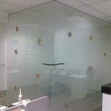 divisória com vidro