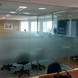 divisória de vidro temperado valor Parque dos Cisnes