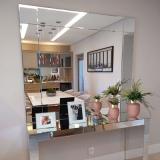 empresa de espelho para sala de jantar Holambra