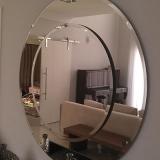 empresa de espelho redondo Jardim Nova América
