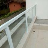 empresa de guarda corpo de vidro com alumínio Parque Santa Bárbara