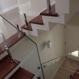 empresa de guarda corpo de vidro com corrimão Jardim Miranda