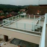 empresa de guarda corpo de vidro para sacada Residencial Parque Bandeirantes