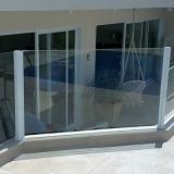 empresa de guarda corpo de vidro para varanda Jardim Paranapanema