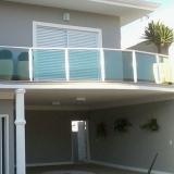 empresa de guarda corpo de vidro varanda Parque Eldorado