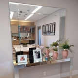 espelho decorativo para sala melhor preço Jardim Ouro Branco