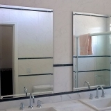 espelho para banheiro Itu