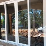 esquadrias de aluminio portas Jardim Samambaia
