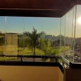 fechamento de sacada com vidro de correr Vila Nova São José