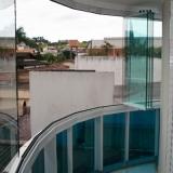 fechamento de sacada com vidro orçar Jardim Santa Odila
