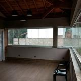 fechamento de sacada de vidro orçar Jardim Nova América