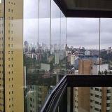 fechamento de sacada vidro orçar Jardim Bandeirantes