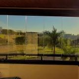 fechamento de vidro sacada orçar Jardim Aurélia