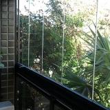 fechamentos de sacada em vidro Jardim Nilópolis(Campinas)