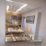 fornecedor de espelho para sala de jantar Vila Ipê