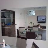 fornecedor de espelho para sala Jardim São Gabriel
