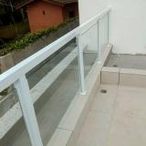 guarda corpo de vidro temperado orçar Jardim Campo Belo II