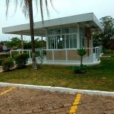 guarda corpos de vidro com corrimão Jardim São Carlos
