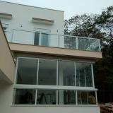 guarda corpos de vidro temperados Jardim Campinas