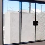 janela de correr de vidro Jardim Icaraí