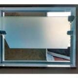 janela de vidro para banheiro Americana