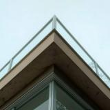 janela de vidro para cozinha Americana