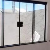 janela para quarto de vidro Residencial Parque Bandeirantes