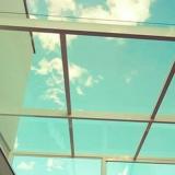 loja de cobertura de vidro laminado Vila San Martin
