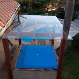 loja de cobertura de vidro para área externa Jardim do Trevo