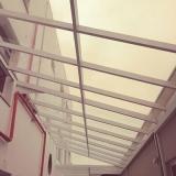 loja de cobertura de vidro para corredor Vila Joaquim Inácio