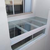 loja de cobertura de vidro para pergolado Jardim Icaraí