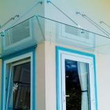 loja de cobertura de vidro para porta de entrada Jardim Itaiú