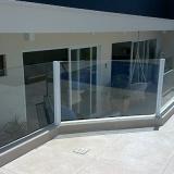 loja de guarda corpo de vidro para varanda Vila Gênesis