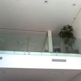 loja de guarda corpo de vidro temperado Jardim Icaraí