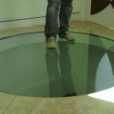 piso de vidro para residência Itu